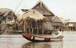 DAHOMEY - Cité Lacustre - Dahomey