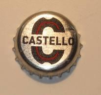 TAPPO A CORONA - USATO  -  BIRRA  CASTELLO ROSSO - Birra