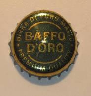TAPPO A CORONA - USATO  -  BIRRA BAFFO D'ORO - Birra