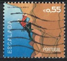 Portugal 2015 Oblitéré Used Sports Extrêmes Escalade SU - Usati