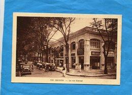 INDOCHINE-SAÏGON-la  Rue Catinat-animée Circulation- Autos-années 1920 -30 Aditiion  Nadal - Vietnam