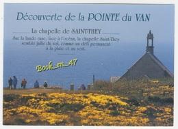 {80669} 29 Finistère Cléden Cap Sizun , La Chapelle Saint They , Sur Les Falaises De La Pointe Du Van ; Animée - Cléden-Cap-Sizun