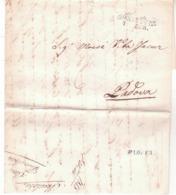 Da  Mantova A Padova 1848  K402 - 1. ...-1850 Prefilatelia