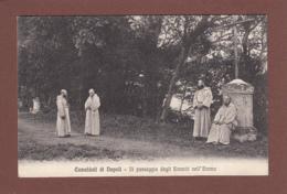 Camaldoli Di NAPOLI - Il Passegio Degli Eremiti Nell'Eremo - 1914 - Napoli (Naples)