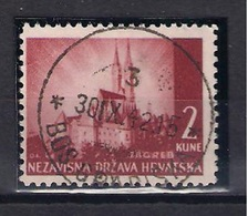 CROATIA 1941.-1945  BOSANSKA GRADIŠKA 3 Postmark - Croatia