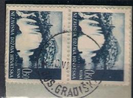 CROATIA 1941.-1945  BOSANSKA GRADIŠKA X X  Postmark - Croatia