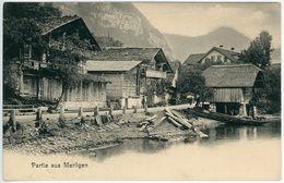 """CPA Suisse Schweiz Bern Partie Aus Merligen Non Circulée """"1900"""" - BE Berne"""