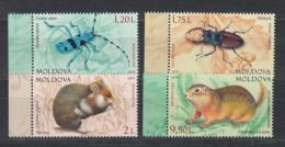 Moldova Moldawien MNH** 2019  Mi 102-95 Red Book Of Moldova Rodent & Insect - Moldova