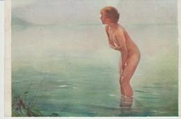C.P.A. - MATINÉE DE SEPTEMBRE - 1133 - FEMME NUE DANS LE LAC - CHABAS - HERBSTMORGEN - - Beauté Féminine D'autrefois (1921-1940)