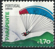 Portugal 2014 Oblitéré Used Sports Extrêmes Parapente SU - Usati