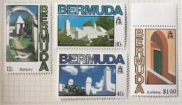 Bermuda - MH* - 1985 - # 461/464 - Bermudes