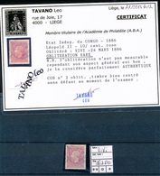BELGIAN CONGO 1886 ISSUE COB 2 USED VIVI - Congo Belge