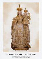 San Severo FG - Santino Antico MARIA SS. DEL ROSARIO - OTTIMO R6- - Religion & Esotérisme