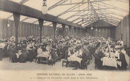 PARIS 1909 / CONGRES NATIONAL DU SILLON / Petit Manque Angle     /// REF  MAI .19 /// N° 8801 - France