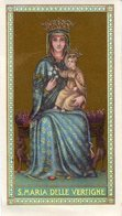Santino Antico SANTA MARIA DELLE VERTIGHE - OTTIMO R6- - Religion & Esotérisme