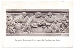 Aisne Guise Bas Relief Du Monument Aux Morts Du Familistère - Guise