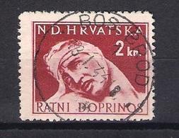 CROATIA 1941.-1945  BOSANSKI BROD 1 Postmark - Croatia
