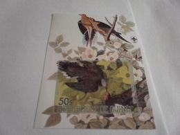 Miniature Sheet Imperf Birds - Guinea (1958-...)