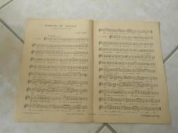 Samson Et Dalila -(Paroles )-(Musique C. Saint Saëns)Partition - Opera