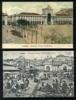 LISBOA - 2 CPA - MERCADO DE PEIXE 24 DE JULHO - PRACA DO COMMERCIO - Lisboa