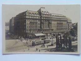 Slovakia 63 Bratislava 1947 Hotel Carlton Tram - Eslovaquia