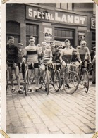 Photographie Anonyme Vintage Snapshot Vélo Bicyclette Cycliste Lamot Vilvorde - Foto's