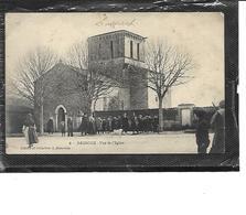 17-LUSSANT-( Tonnay-Charente) )-Beau Plan Animé De L'Eglise De BAUROUX - Francia