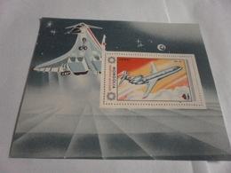 Miniature Sheet Perf YAK 42 Aircraft - Mongolia