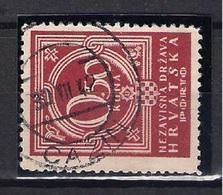 CROATIA 1941.-1945  CAZIN Postmark - Croatia