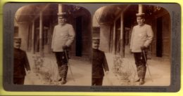 Stereoview - Russo Japanese War Field Marshal Oyama At Mukden, Manchuria - Underwood & Underwood - Stereoscopes - Side-by-side Viewers