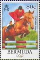 BERMUDA 1996 - OLYMPICS ATLANTA 96 - HIPICA - YVERT Nº 709** - Caballos