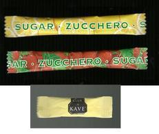 3 Bustine Zucchero Italia - Stick - Zucchero (bustine)