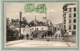 CPA - THORIGNY (77) - Aspect Du Rendez-vous Des Pêcheurs, Restaurant à Côté Du Passage à Niveau En 1927 - Autres Communes