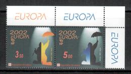 Kroatien / Croatia / Croatie 2002 Paar/pair EUROPA ** - 2002
