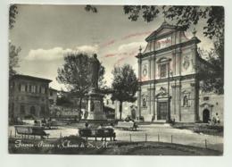 FIRENZE - PIAZZA E CHIESA DI S.MARCO  VIAGGIATA   FG - Firenze