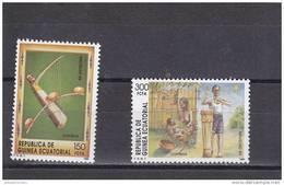 Guinea Ecuatorial Nº 118 Al 119 - Guinea Ecuatorial