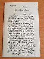 La Collaboration Avait Aussi Ses Tracts (clandestins) FRANCOISE VESINET Prés De Paris Pleure Sur Sa Patrie égarée. - 1939-45