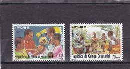 Guinea Ecuatorial Nº 71 Al 72 - Guinea Ecuatorial