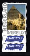 Nederland Persoonlijke Wereld Internationale Zegel: Thema: Sphinx, Egypte - Periode 2013-... (Willem-Alexander)