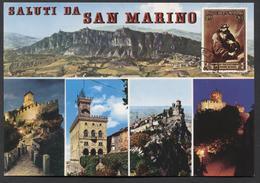 Saluti Da San Marino - Apennijns Schiereiland - NOT  Used - See The 2 Scans For Condition.(Originalscan ) - San Marino