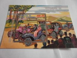 Miniature Sheet Perf Cars Expo - Equatorial Guinea