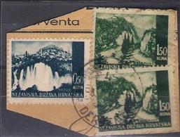 CROATIA 1941.-1945  DERENTA 4 Postmark - Croatia