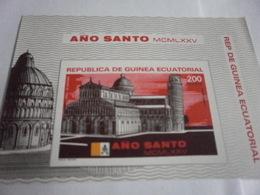 Miniature Sheet Imperf St Peters Basilica Rome - Equatorial Guinea