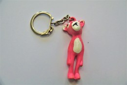 Vintage KEYCHAIN : PINK PANTHER - RaRe - 1980's - Porte-cles - Porte-clefs