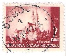 CROATIA 1941.-1945  DOBOJ 1 Postmark - Croatia