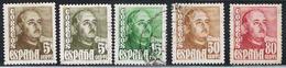 (1E 160) ESPAÑA // YVERT 764,764A,765,770,773A // EDIFIL 1020,1020A,10211022,1023 // 1948 - 1931-Today: 2nd Rep - ... Juan Carlos I