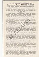 Doodsprentje Zuster/Soeur Marie-Flavie / Adeline Vanheede °1892 Wielsbeke †1961 Harelbeke (B182) - Obituary Notices
