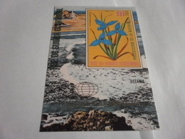 Miniature Sheet Imperf Nature Protection Oceania - Equatorial Guinea