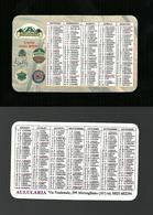 Calendarietto Pubblicitario 2002 - Ristorante Aulularia Di Monteforte ( Avellino ) - Calendari