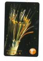 Carta Telefonica Hong Kong - Fibre Ottiche -  Carte Telefoniche@Scheda@Schede@Phonecards@Telecarte@Telefonkarte - Hong Kong